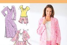 Sleepwear / Get all set for bedtime with Simplicity New Look, www.simplicitynewlook.com