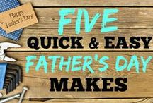 Father's Day Gift Ideas / Looking for something extra special to give to the main man in your life? Look no further...