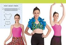 Activewear patterns / Exercise in style with these great patterns