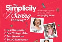 Simplicity Sewing Challenge 2016 / Showing the fabulous entries from this year's challenge.