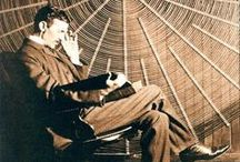 "Nikola Tesla / ""If you want to find the secrets of the universe, think in terms of energy, frequency and vibration."" ~Nikola Tesla"
