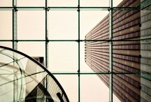 Interiors/exteriors / Architecture, inside and out.