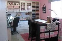 Craft Room / Office / by Amy Schauble