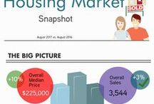 Orlando Housing Market / ORRA's monthly housing reports, infographic version!