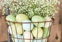 "Easter / ""Easter spells out beauty, the rare beauty of new life."" ~S.D. Gordon"