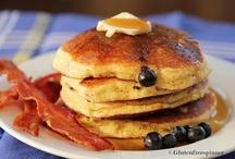 """Gluten Free Breakfasts / """"Never work before breakfast. If you have to work before breakfast, get your breakfast first."""" ~Josh Billings"""