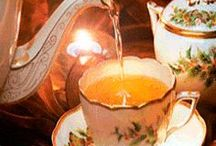 """Tea Party / """"You can never get a cup of tea large enough or a book long enough to suit me."""" ~C.S. Lewis"""
