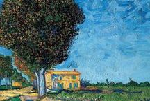 "Vincent van Gogh / ""I dream my painting and I paint my dream."" ~Vincent van Gogh"