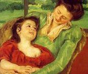 "Mary Cassatt / ""Women should be someone and not something."" ~Mary Cassatt"