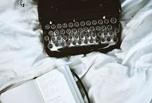 "writer's block / ""There is nothing to writing. All you do is sit down at a typewriter and bleed."" - Ernest Hemingway"