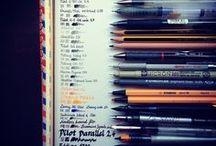 drawings, watercolors