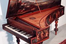 """Beautiful & Unusual Musical Instruments / """"It's easy to play any musical instrument: all you have to do is touch the right key at the right time and the instrument will play itself."""" ~Johann Sebastian Bach"""