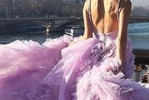 """Gorgeous Gowns / """"I've no idea when I'm going to wear it, the girl replied calmly. I only knew that I had to have it. Once I tried it on, well... She shrugged. The dress claimed me."""" ~Isabel Wolff, A Vintage Affair"""