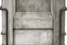 """Concrete / """"They swore by concrete. They built for eternity."""" ~Günter Grass"""