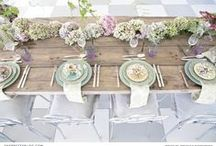 Pastel Wedding Inspiration / Wedding inspiration in all the pretty pastel shades.