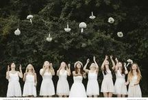 Bridal Party Inspiration / Look no further to find the perfect dresses for your bridesmaids, regardless the style or colour. While you're at it, you might just find some inspiration for the flower girls too!
