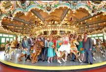 Spanish Ballroom - Glen Echo Park - Wedding / a wedding inspiration board for Bellwether Events clients K & M