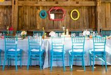 Chiavari Chairs / Examples of Chiavari Chairs, used at weddings and other formal events such as galas