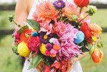 Wedding Flowers / all kinds of flowers and a lot of bouquets for weddings