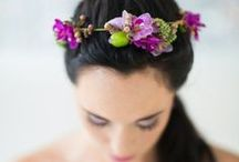 wedding {headpieces} / Ideas for creative and unique headpieces and flower crowns. / by The Pretty Blog