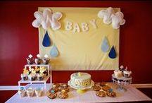 Shower Shower Baby Shower  / a rain/shower/seattle/northwest themed baby shower inspiration board