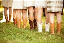 Country & Western Wedding Ideas / Ideas and inspiration for rustic, vintage, barn, farm, country weddings