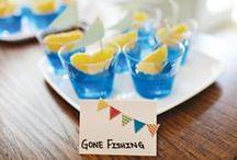 Row Row Row Your Boat / Kid Birthday Party ideas for a boat/nautical theme