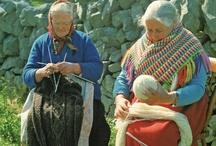 knit + yarn + crochet