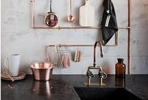 Home Decor - Kitchens / Layouts, smart storage and decorating ideas for your kitchen.