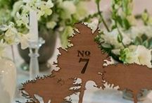 wedding {table numbers} / Label your tables with something creative! Here are a few table number ideas to get you inspired! / by The Pretty Blog