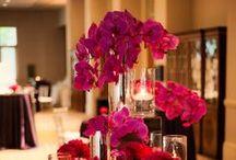 Pink, Black and White wedding ideas