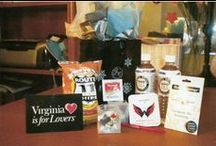 Virginia Welcome Bag ideas / ideas for your Virginia themed wedding welcome bags or favors