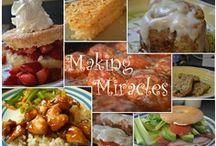 Making Miracles - Menu Plans / Weekly Menu Plans shared at Making Miracles.