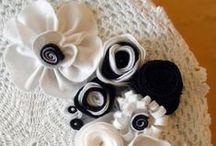 Flowers I sew / Handmade flowers for decoration