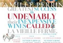 """La Vieille Ferme - Famille Perrin / the wines of La Vieille Ferme, from Famille Perrin """"The Perrins greatest success is undeniably their HIGH QUALITY, INEXPENSIVE wines called La Vieille Ferme..."""" -Robert Parker's Wine Advocate / by Vineyard Brands"""