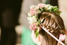 wedding (flower girls) / Flower girl dresses and crowns; make the little ones feel special by incorporating some of these ideas. / by The Pretty Blog