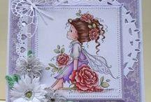 Wee digital stamps - Sylvia Zet / Meus trabalhos feitos com carimbos digitais da Sylvia