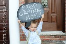 Help Them Have a Memorable First Day of School / Fun signs and great tips for having a great first day of school!