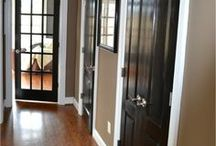 Doors and Trim / Interior and exterior doors; interesting moldings