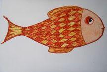 """#naosequeixedesenheumpeixe / Este """"board"""" vai servir a uma brincadeira. A ideia é parar com tanto mimimi e criar uma atitude positiva diante das coisas. Então quando algo der errado, seja grande ou pequeno, não se queixe, desenhe um peixe. Não precisa postar o desenho, mas se quiser use a """"etiqueta"""" #naosequeixedesenheumpeixe. Boa diversão!"""