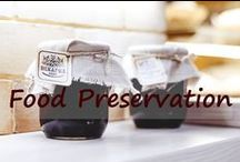 Food Preservation / Pickles, jam and jelly, curds, butters, freezing, canning, dehydrating - there are enough ways to put food up that avoiding the grocery store can be easy. Can you grocery shop once a month? #food #preserves #preserving #canning  / by Robin Follette