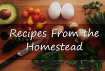 Recipes From The Homestead / Home cooking, from scratch, using ingredients from the homestead or through homesteading activities like hunting, fishing, and wild harvesting.   If you'd like an invitation to contribute please message robinfollette.