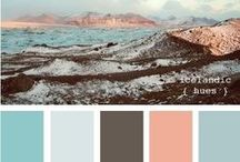 Color Palettes / color combos I love