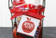 Teacher Appreciation Ideas ✎ / Teachers Appreciation Gifts made perfect with the best and easiest homemade teacher appreciation gift ideas with pictured tutorials and free printables for teacher appreciation week including printable cards and creative and useful teacher gift ideas.