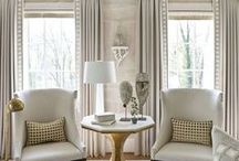 Curtains ✂  Window Treatments / Full pictured tutorials on how to make curtains, windows cover, bay windows, blinds, drapes, picture window, shades, shutters, stained glass, valance, and window seats.