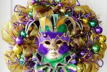 Mardi Gras / Fun crafts to celebrate Mardi Gras with activities for kids and fun family crafts with full pictured tutorials and free printables. / by Laurie Turk TipJunkie.com