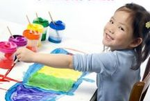 Preschool Ideas / by Leanna @ Alldonemonkey.com