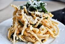 pasta, pasta, and anything Italian!  *note I always cook with gluten free pasta or spaghetti squash / by Suzanne Monk Clark