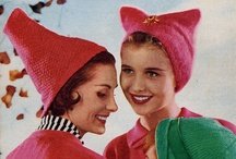 Vintage Knits / Hot knits of yesteryear! / by Cassie Clarke