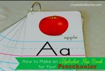 31 Days of ABC's / A series on learning the ABCs - crafts, activities, books, and more!  #preschooler #abc  A companion to the collaborative series 31 Days of ABCs: http://alldonemonkey.com/31-days-of-abcs/